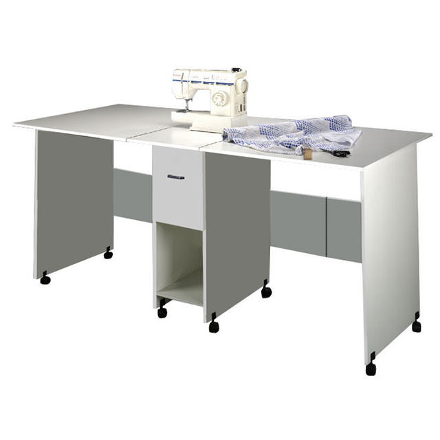Folding Counter Height Craft Table
