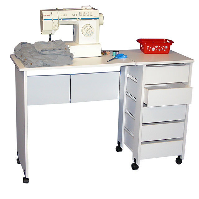 Mobile Desk White