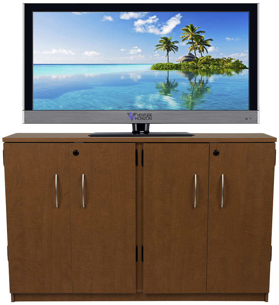 Cherry Double Multimedia Cabinet