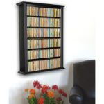 Black Single Wall Mount Cabinet 2421-21BL