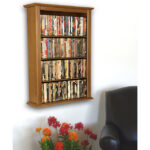Oak Single Wall Mount Cabinet 2421-33OA