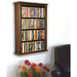 Walnut Single Wall Mount Cabinet 2422-60DW