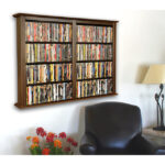 Walnut Double Wall Mount Cabinet 2422-60DW