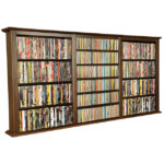 Walnut Triple Wall Mounted Cabinet 2423-60DW