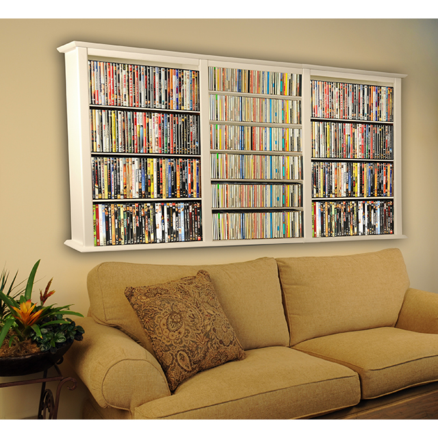 Venture Horizon Wall Mount Media Cabinets Dvds Cds Or Collectibles