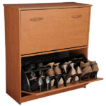Cherry Double Shoe Cabinet 2