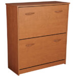 Cherry Double Shoe Cabinet 4230-42CH