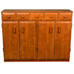 Cherry Multimedia Cabinet With Drawers 2368-42CH