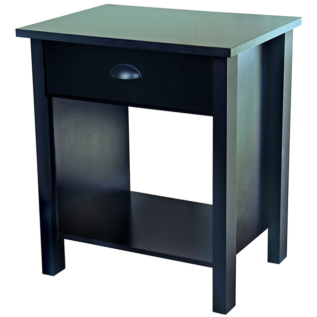 Black Nouvelle Nightstand