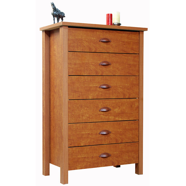 Cherry 6 Drawer Chest