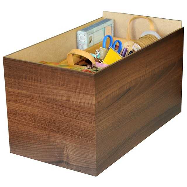 Walnut Project Center Drawer