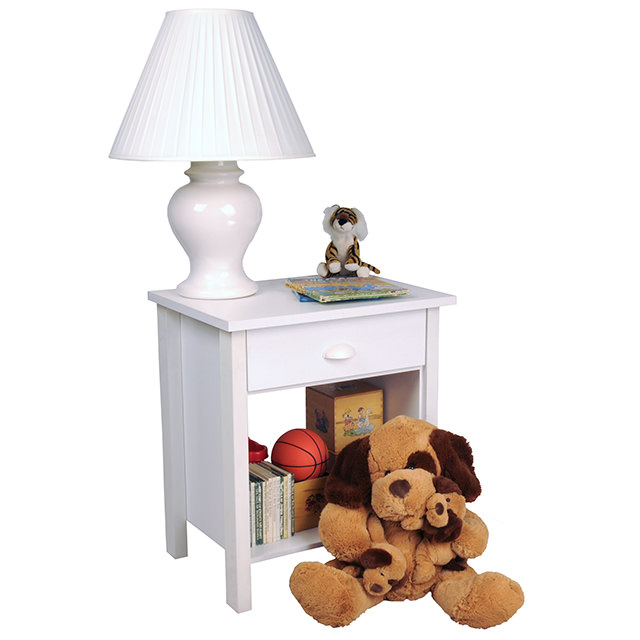 White Nouvelle Nightstand